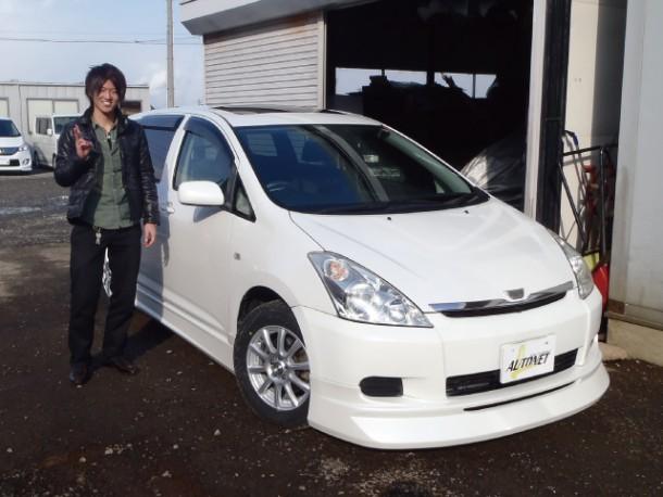 新潟県  池田さん 購入した車:トヨタ ウィッシュ