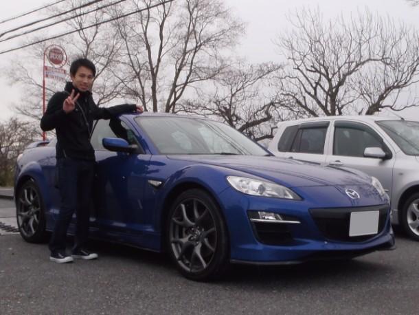 滋賀県  平田さん 購入した車:マツダ RX-8