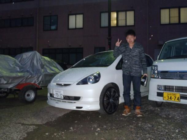新潟県  中川さん 購入した車:ホンダ フィット