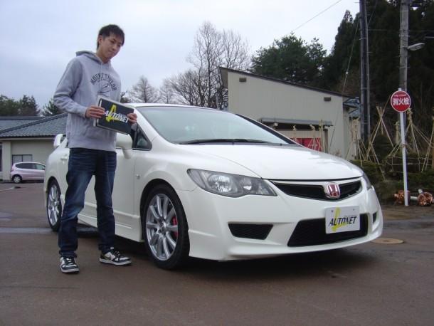新潟県  浅間さん 購入した車:ホンダ シビック