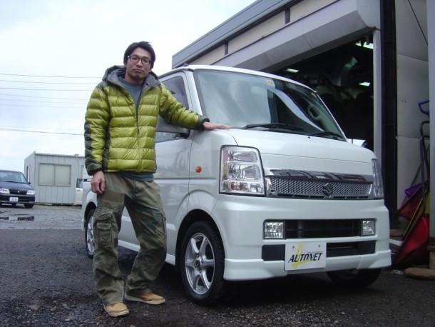 新潟県  三留さん 購入した車:スズキ エブリィワゴン
