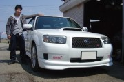 新潟県 永井さん 購入した車:スバル フォレスター