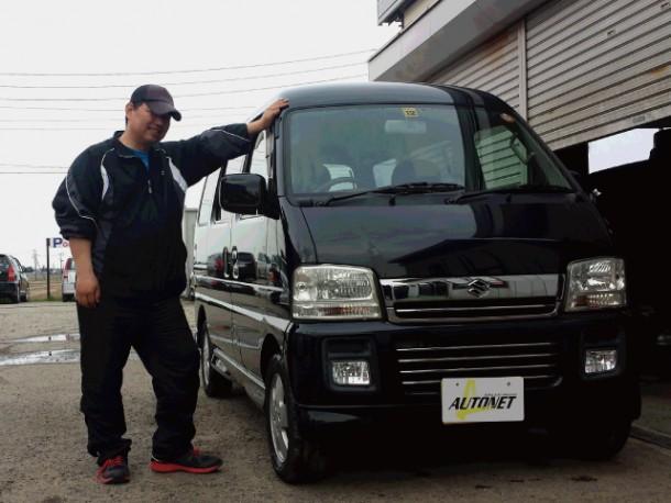 新潟県  佐藤さん 購入した車:スズキ エブリィワゴン
