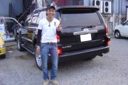 神奈川県  野木さん 購入した車:トヨタ ハイラックスサーフ