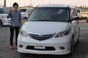 新潟県 村上さん 購入した車:ホンダ エリシオン