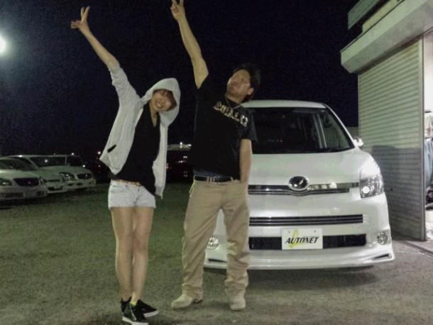 新潟県  沖野さん 購入した車:トヨタ ヴォクシー