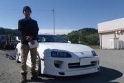 福島県 三瓶さん 購入した車:トヨタ スープラ