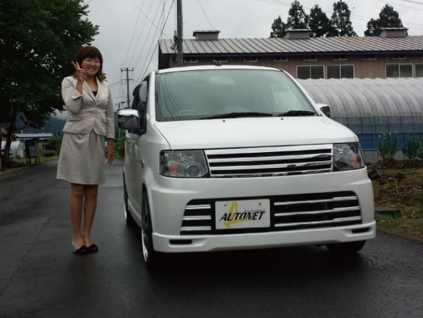 秋田県  浜中さん 購入した車:日産 オッティ