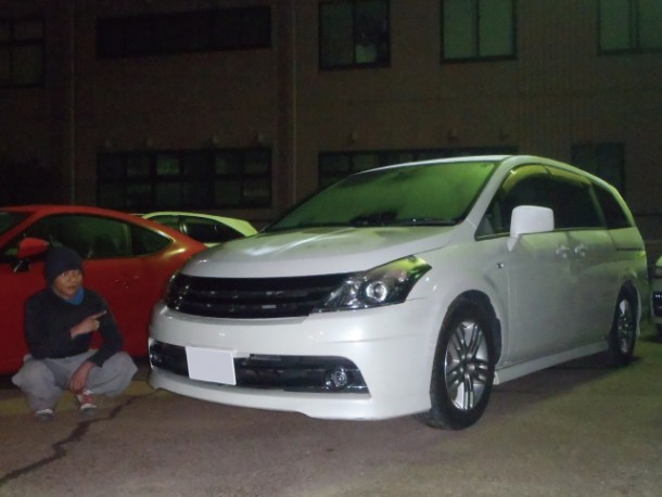 新潟県  丸山さん 購入した車:日産 プレサージュ