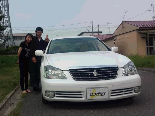 秋田県  石井さん 購入した車:トヨタ クラウン