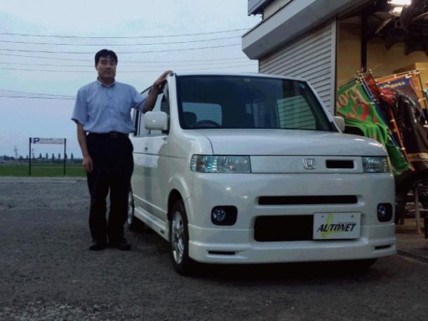 新潟県  武田さん 購入した車:ホンダ ザッツ