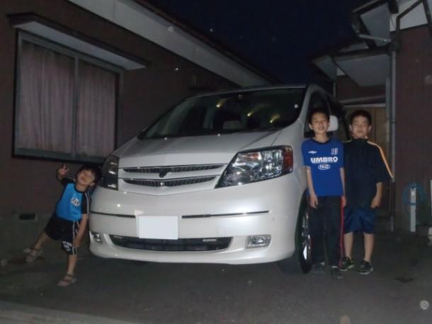 新潟県  Yさん 購入した車:トヨタ アルファードハイブリッド