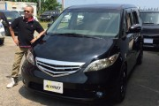 新潟県 宮内さん 購入した車:ホンダ エリシオン