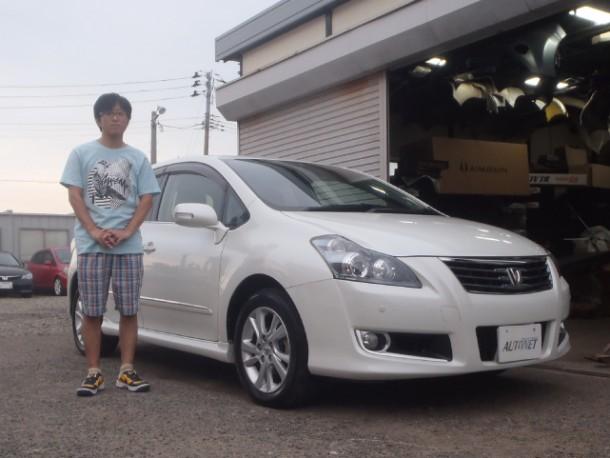 新潟県 高野さん 購入した車:トヨタ ブレイド
