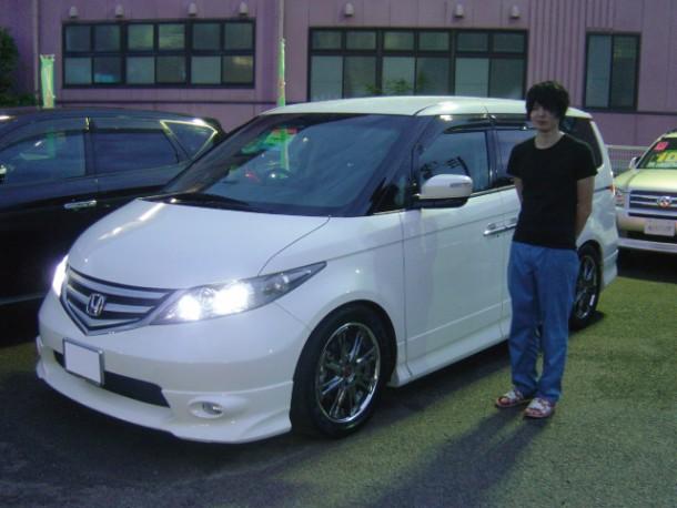 新潟県 佐藤さん 購入した車:ホンダ エリシオン