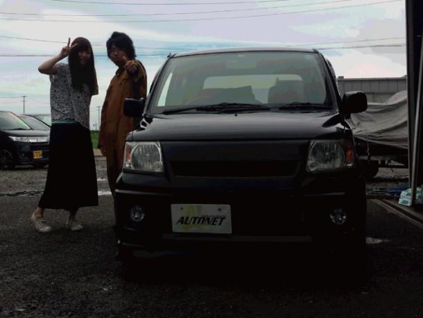 新潟県 羽田さん 購入した車:三菱 ekワゴン
