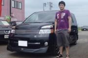 新潟県 渡辺さん 購入した車:トヨタ ヴォクシー