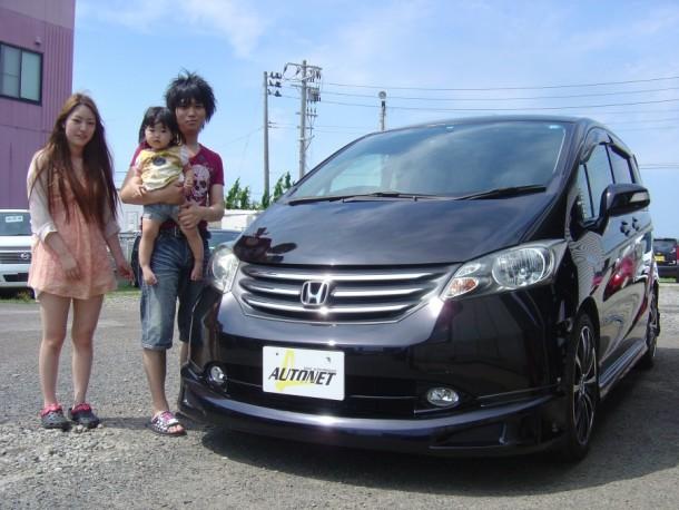 新潟県 丸山さん 購入した車:ホンダ フリードスパイク
