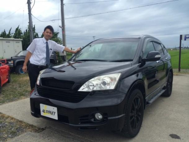新潟県 杉山さん 購入した車:ホンダ CR-V