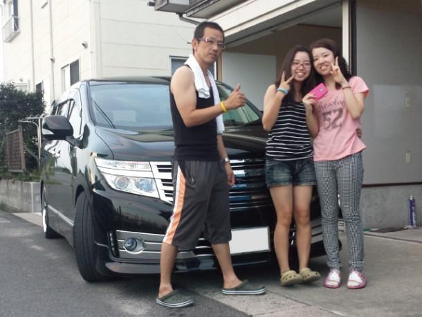 新潟県 斉藤さん 購入した車:日産 エルグランド