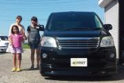 新潟県 菊地さん 購入した車:トヨタ ノア