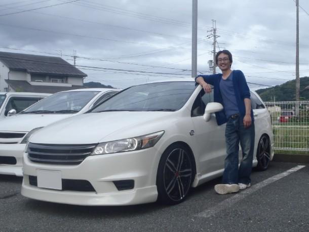 兵庫県 一ノ尾さん 購入した車:ホンダ ストリーム