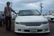 新潟県 藤間さん 購入した車:ホンダ オデッセイ