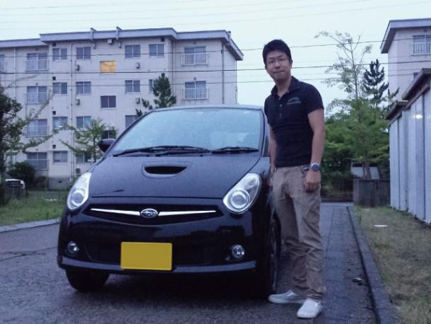 新潟県 佐藤さん 購入した車:スバル R2