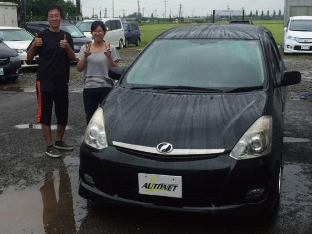 新潟県 村竹さん 購入した車:トヨタ ウィッシュ