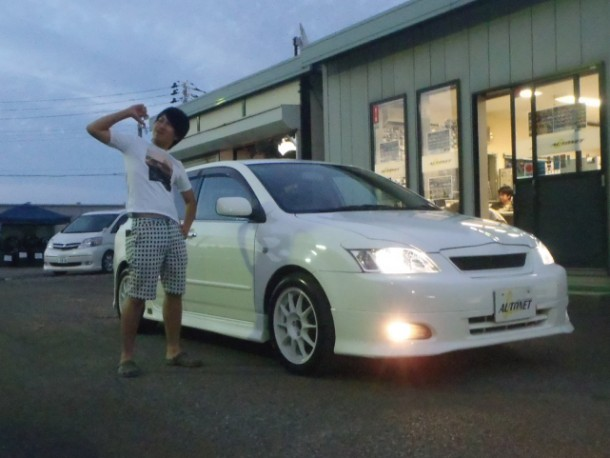 新潟県 五十嵐さん 購入した車:トヨタ アレックス