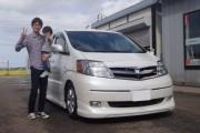 新潟県 中野さん 購入した車:トヨタ アルファードハイブリッド