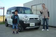 新潟県 富所さん 購入した車:スズキ ハスラー