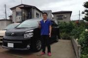 新潟県 布川さん 購入した車:トヨタ ヴォクシー
