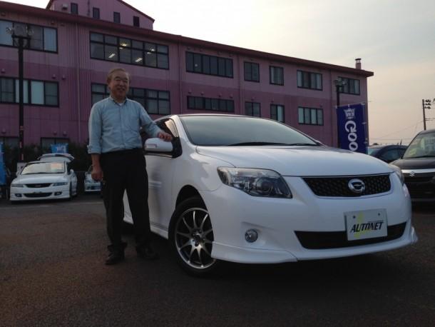 新潟県 鈴木さん 購入した車:トヨタ カローラフィールダー