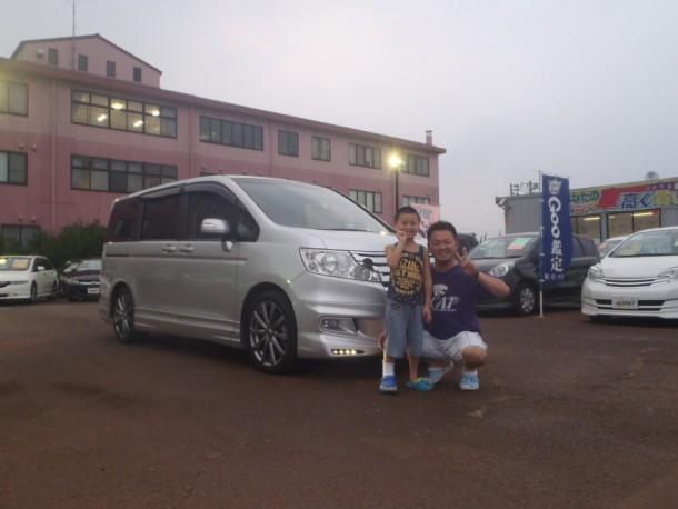 新潟県 小松さん 購入した車:ホンダ ステップワゴン