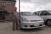 新潟県 高橋さん 購入した車:トヨタ ウィッシュ