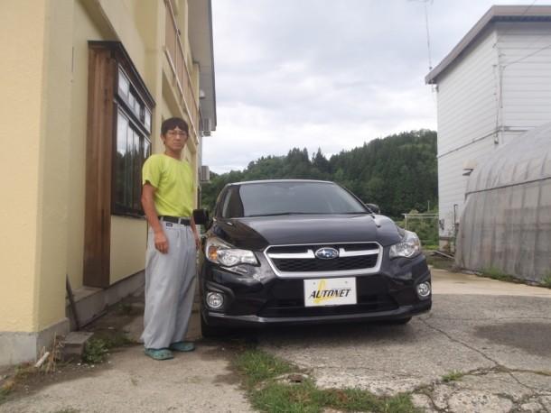 福島県 目黒さん 購入した車:スバル インプレッサスポーツ