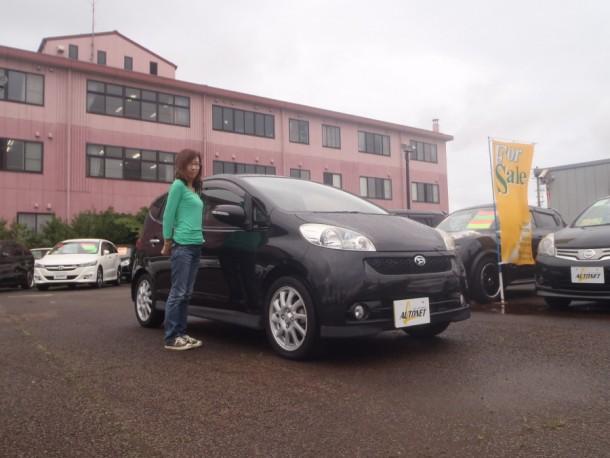 新潟県 村木さん 購入した車:ダイハツ ソニカ