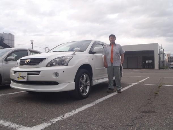 長野県 小林さん 購入した車:トヨタ ハリアーハイブリッド