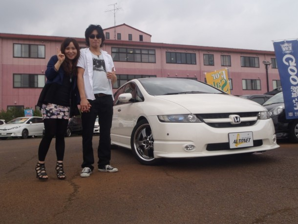 新潟県 後藤さん 購入した車:ホンダ オデッセイターボ