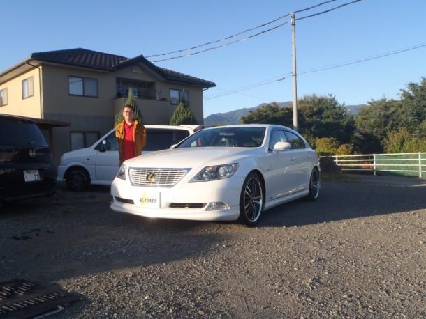 長野県 都竹さん 購入した車:レクサス LS460