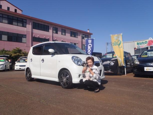 新潟県 白井さん 購入した車:スズキ MRワゴン