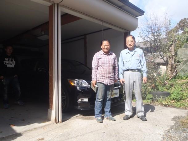 新潟県 平山さん 購入した車:レクサス GS350