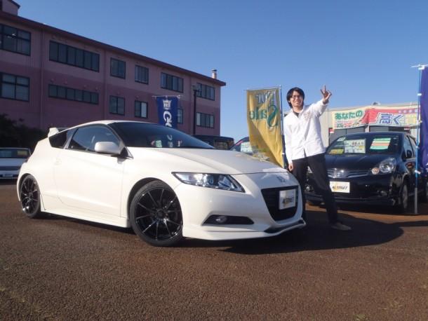 新潟県 遠藤さん 購入した車:ホンダ CR-Z