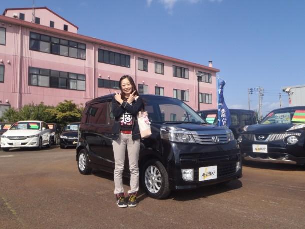 新潟県 東條さん 購入した車:ホンダ ライフ