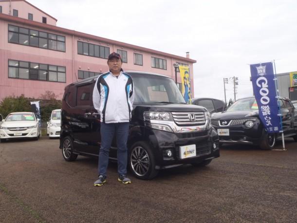 長野県 寺嶋さん 購入した車:ホンダ N-BOXカスタム