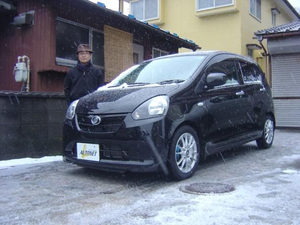 新潟県 伊藤さん 購入した車:ダイハツ ミライース