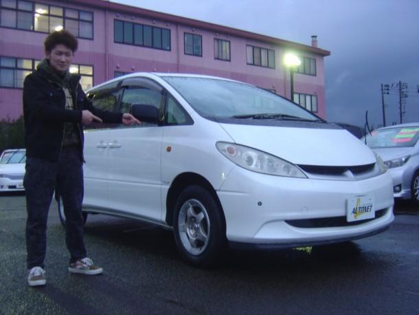 新潟県 若月さん 購入した車:トヨタ エスティマハイブリッド