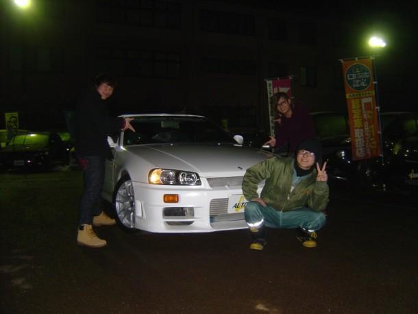 新潟県 成田さん 購入した車:ニッサン スカイライン
