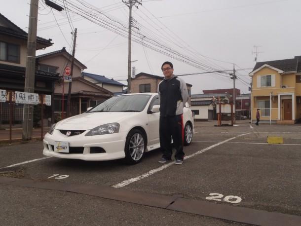 新潟県 杵渕さん 購入した車:ホンダ インテグラ タイプR